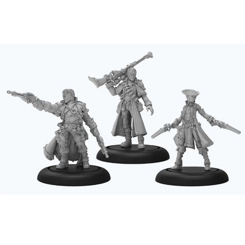 Warmachine: Mercenaries - Caine's Hellslingers (3)