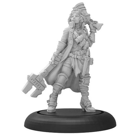 Warmachine: Mercenaries - Colbie Sterling Captain of the Black River Irregulars (1)