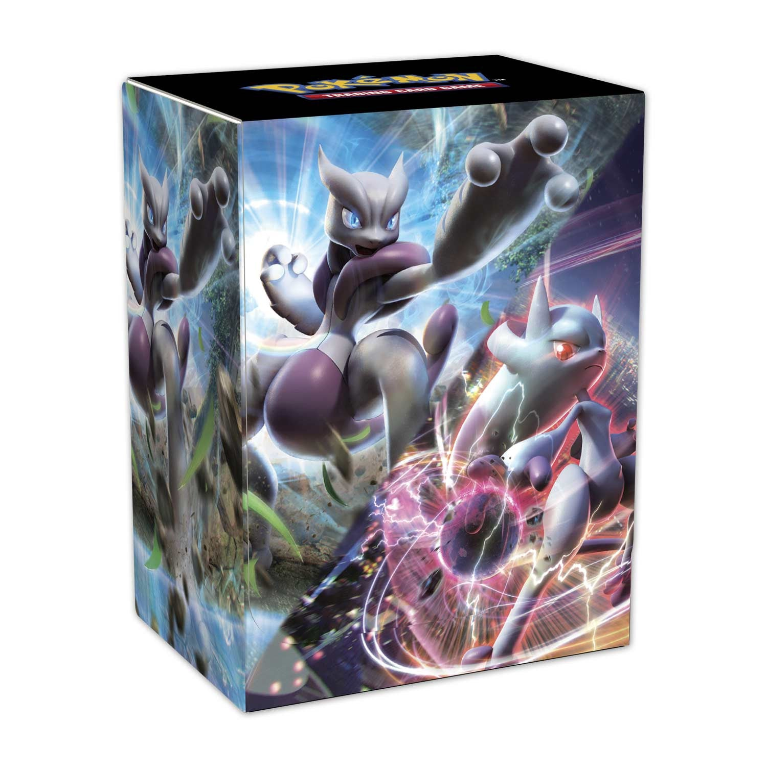 Pokemon TCG Deck Box Mega Mewtwo X and Y