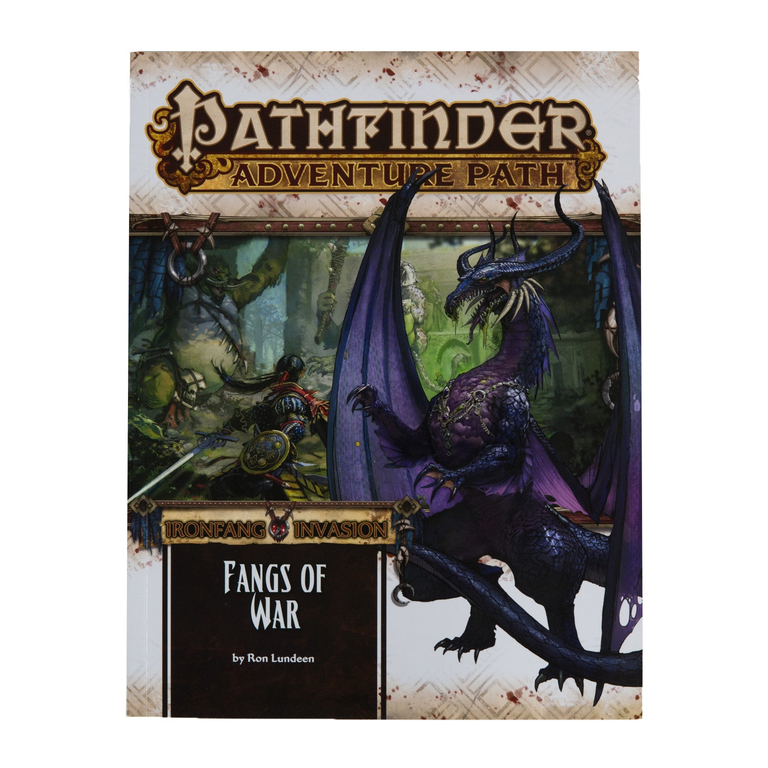 Pathfinder RPG: Adventure Path - Fangs of War (Ironfang Invasion Part 2 of 6)