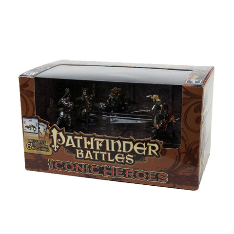 Pathfinder Battles Iconic Heroes Box Set IV