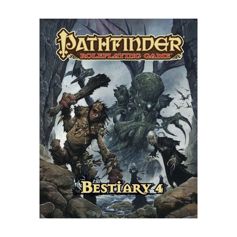 Pathfinder RPG: Bestiary 4 (Hard Cover)