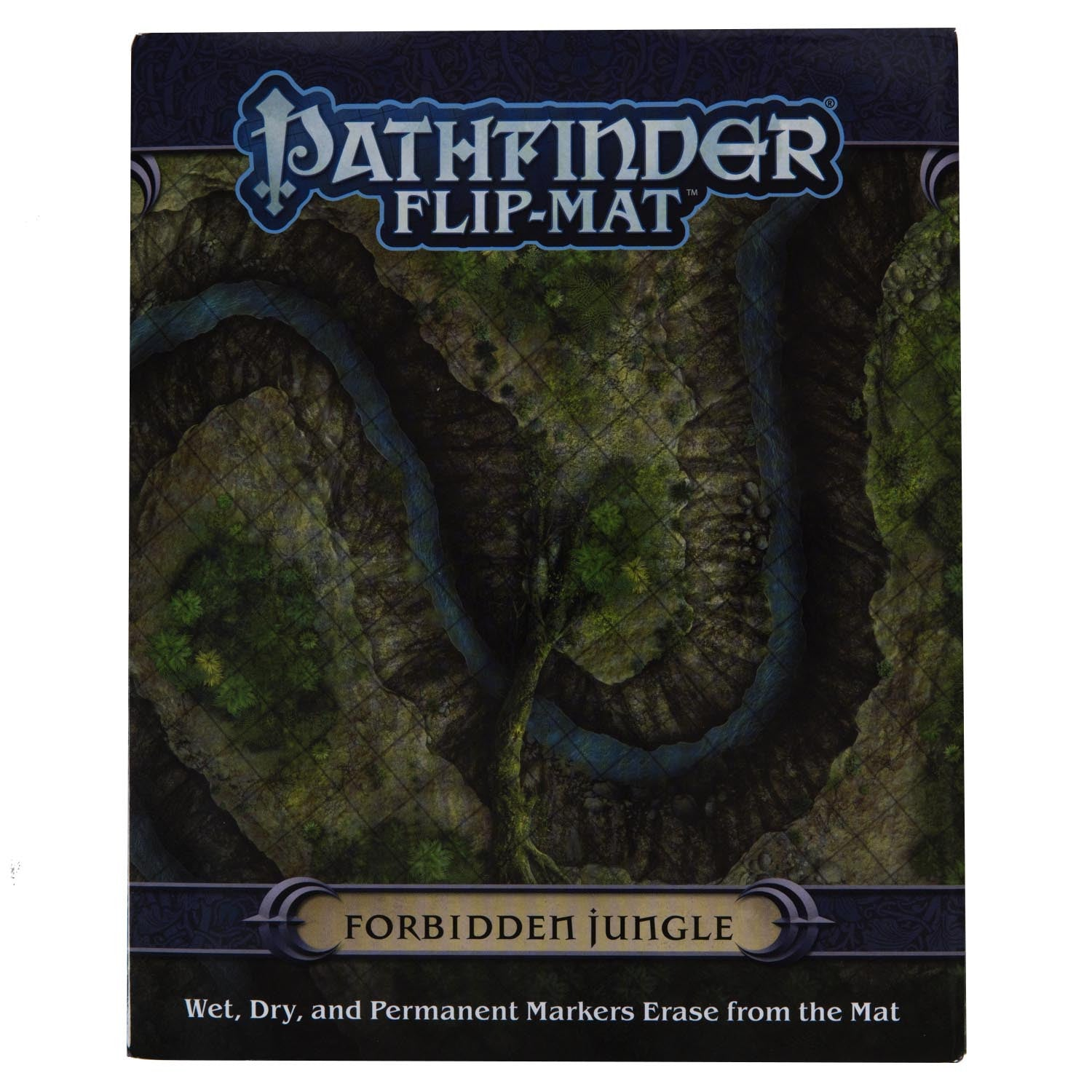 Pathfinder Flip-Mat: Forbidden Jungle