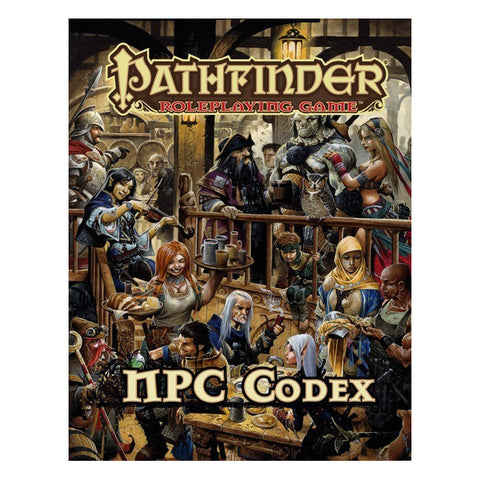 Pathfinder RPG: NPC Codex (Hard Cover)