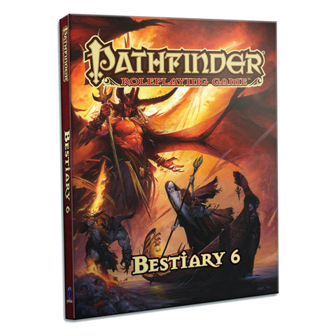 Pathfinder RPG: Bestiary 6 (Hard Cover)