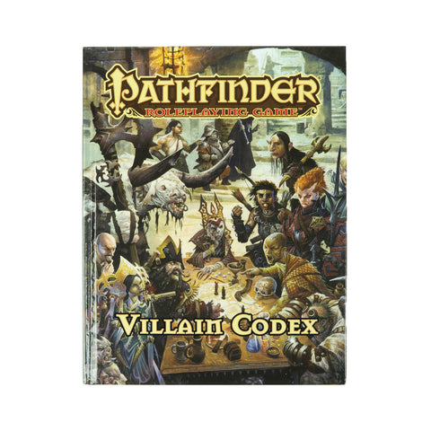 Pathfinder RPG: Villain Codex (Hard Cover)