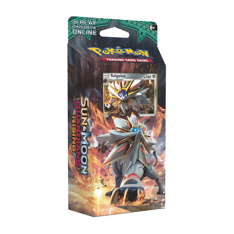 Pokemon TCG Sun & Moon: Guardians Rising Steel Sun Theme Deck