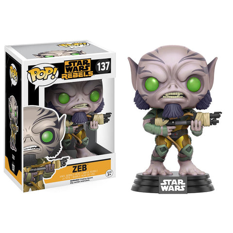 Pop! 10775 Star Wars: Rebels - Zeb