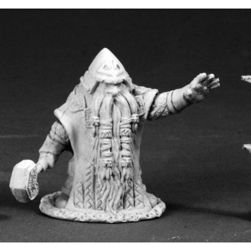 Reaper Dark Heaven Legends: 03663 Grimm Grayrune, Dwarf Vizier