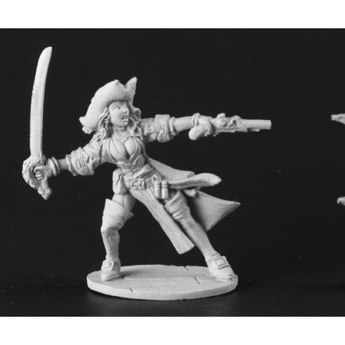 Reaper Dark Heaven Legends: 03666 Elizabeth, Female Pirate Captain