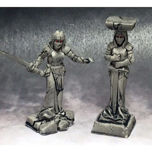 Reaper Dark Heaven Legends: 03770 Caryatid Columns