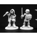 Reaper Dark Heaven Legends: 03783 Townsfolk: Kids 2 (2)