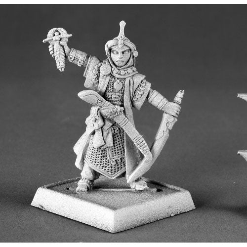Reaper Pathfinder Miniatures: 60015 Kyra, Female Iconic Cleric