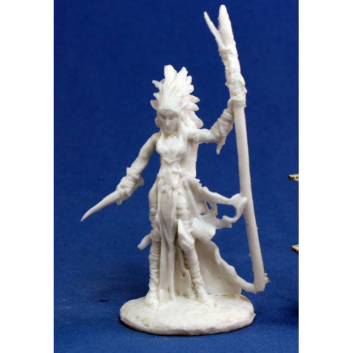 Reaper Dark Heaven Bones: 77121 Liela, Dark Elf Wizard