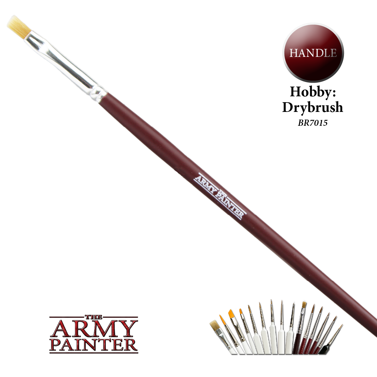 The Army Painter Hobby Brush Series: Drybrush