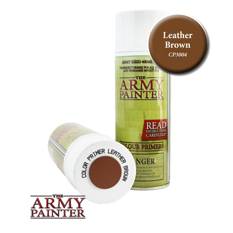 The Army Painter Colour Primer: Leather Brown (Spray)