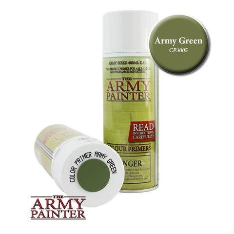 The Army Painter Colour Primer: Army Green (Spray)