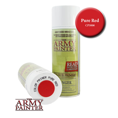 The Army Painter Colour Primer: Pure Red (Spray)