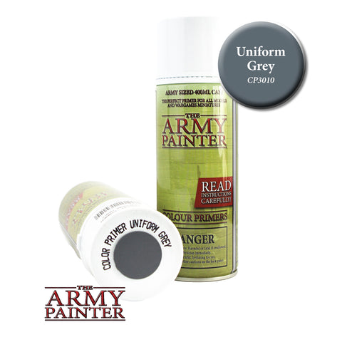 The Army Painter Colour Primer: Uniform Grey (Spray)