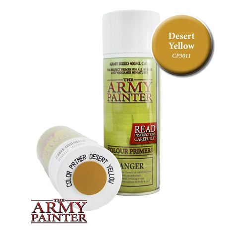 The Army Painter Colour Primer: Desert Yellow (Spray)