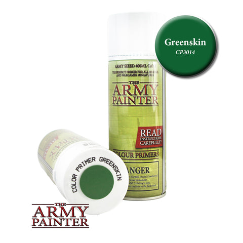 The Army Painter Colour Primer: Greenskin (Spray)