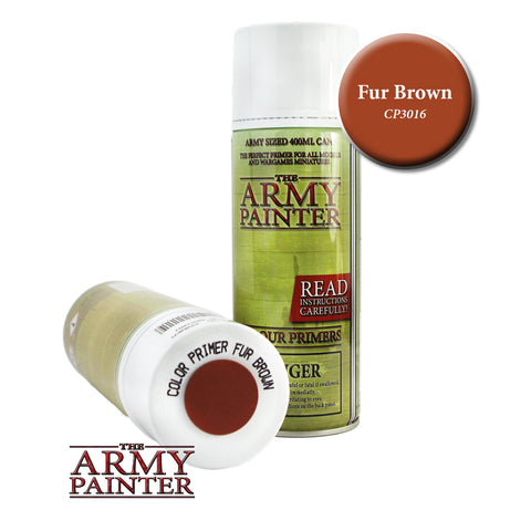 The Army Painter Colour Primer: Fur Brown (Spray)