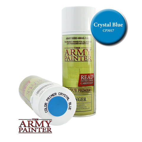 The Army Painter Colour Primer: Crystal Blue (Spray)
