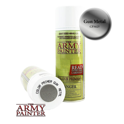 The Army Painter Colour Primer: Gun Metal (Spray)