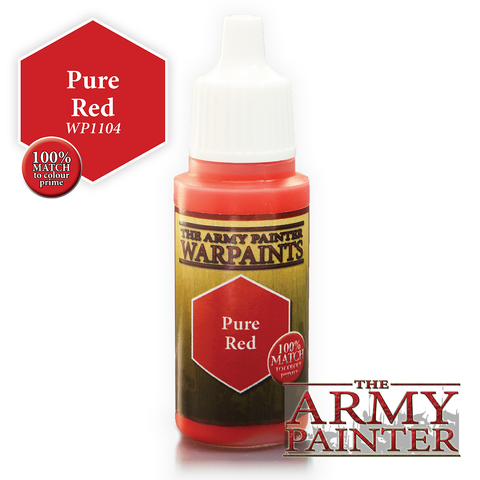 The Army Painter Warpaints: Pure Red (18ml)