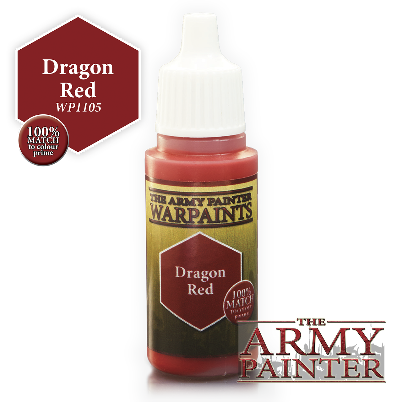 The Army Painter Warpaints: Dragon Red (18ml)