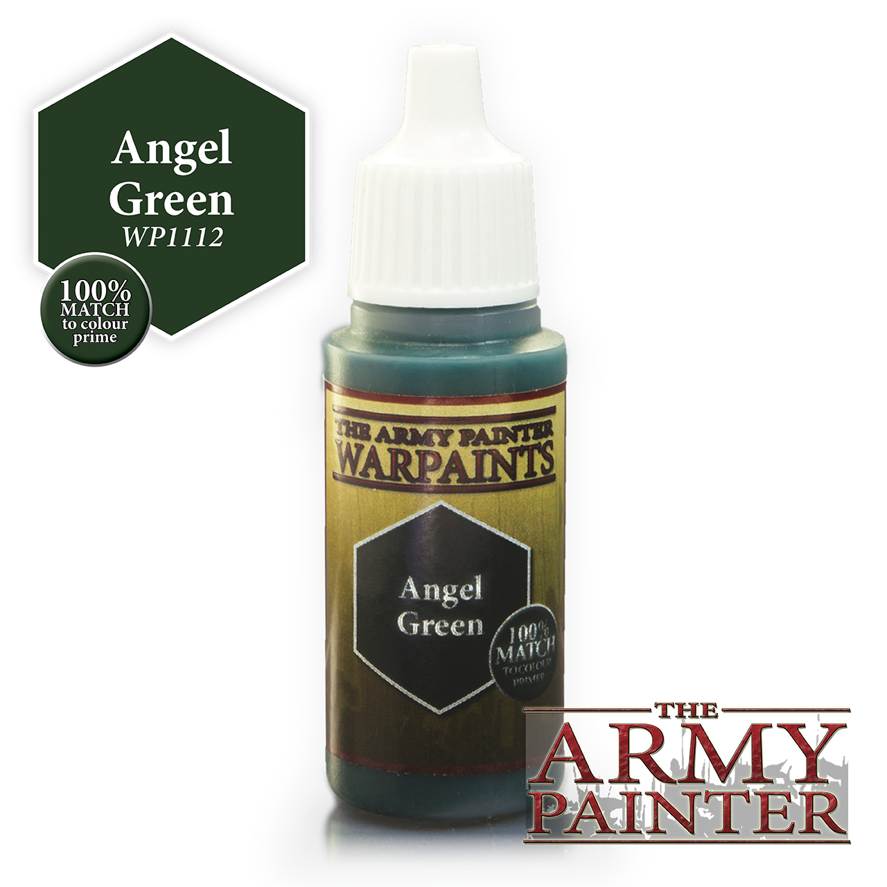 The Army Painter Warpaints: Angel Green (18ml)