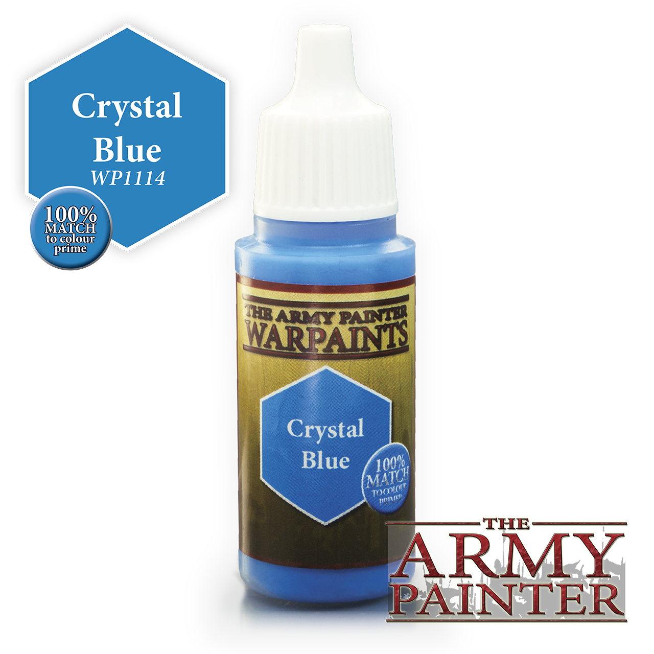 The Army Painter Warpaints: Crystal Blue (18ml)