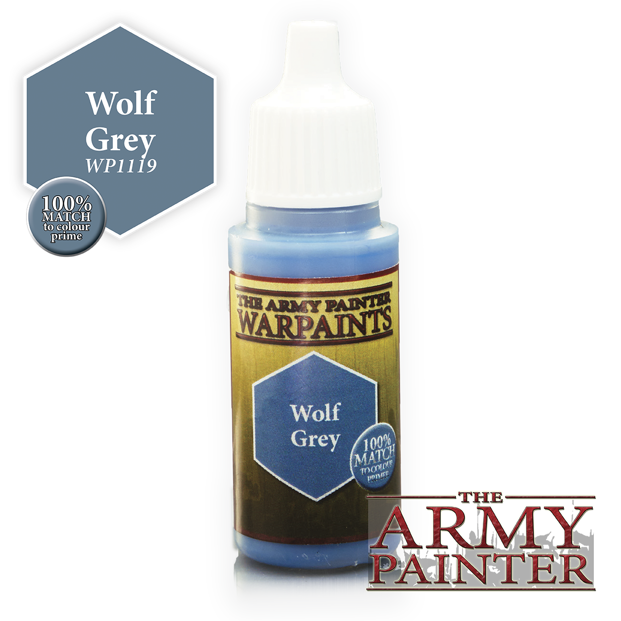 The Army Painter Warpaints: Wolf Grey (18ml)