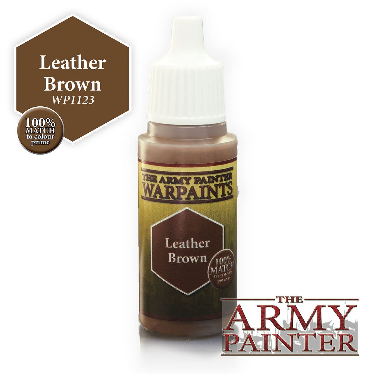 The Army Painter Warpaints: Leather Brown (18ml)