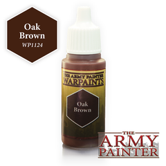 The Army Painter Warpaints: Oak Brown (18ml)