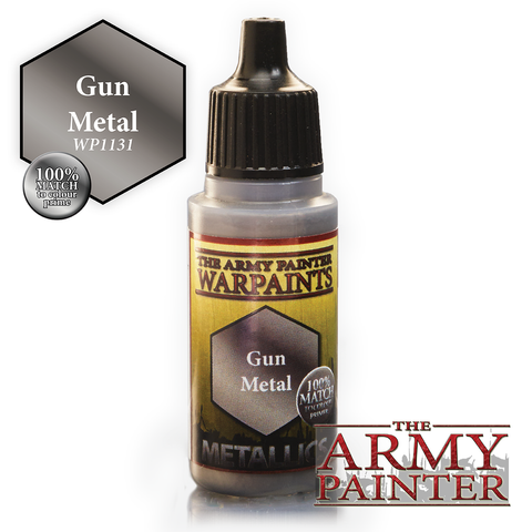 The Army Painter Warpaints Metallics: Gun Metal (18ml)