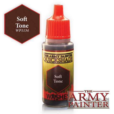 The Army Painter Warpaints Washes: Soft Tone Quickshade (18ml)
