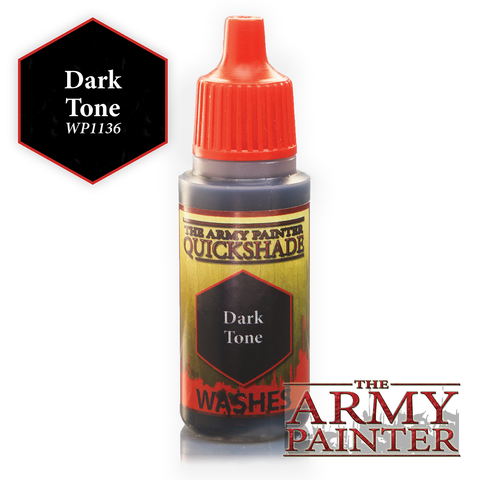 The Army Painter Warpaints Washes: Dark Tone Quickshade (18ml)
