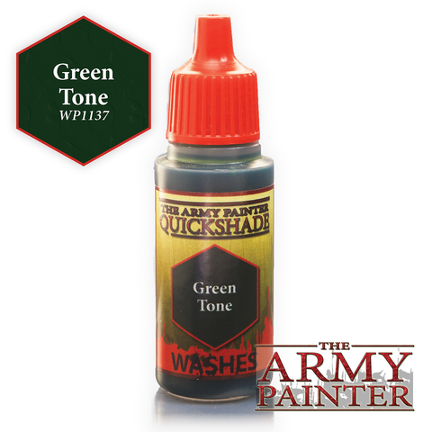 The Army Painter Warpaints Washes: Green Tone Quickshade (18ml)