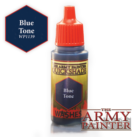 The Army Painter Warpaints Washes: Blue Tone Quickshade (18ml)