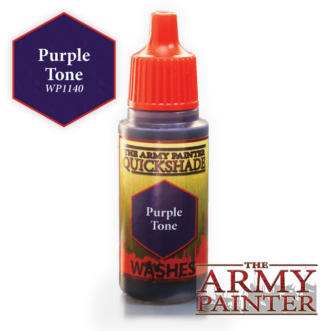The Army Painter Warpaints Washes: Purple Tone Quickshade (18ml)
