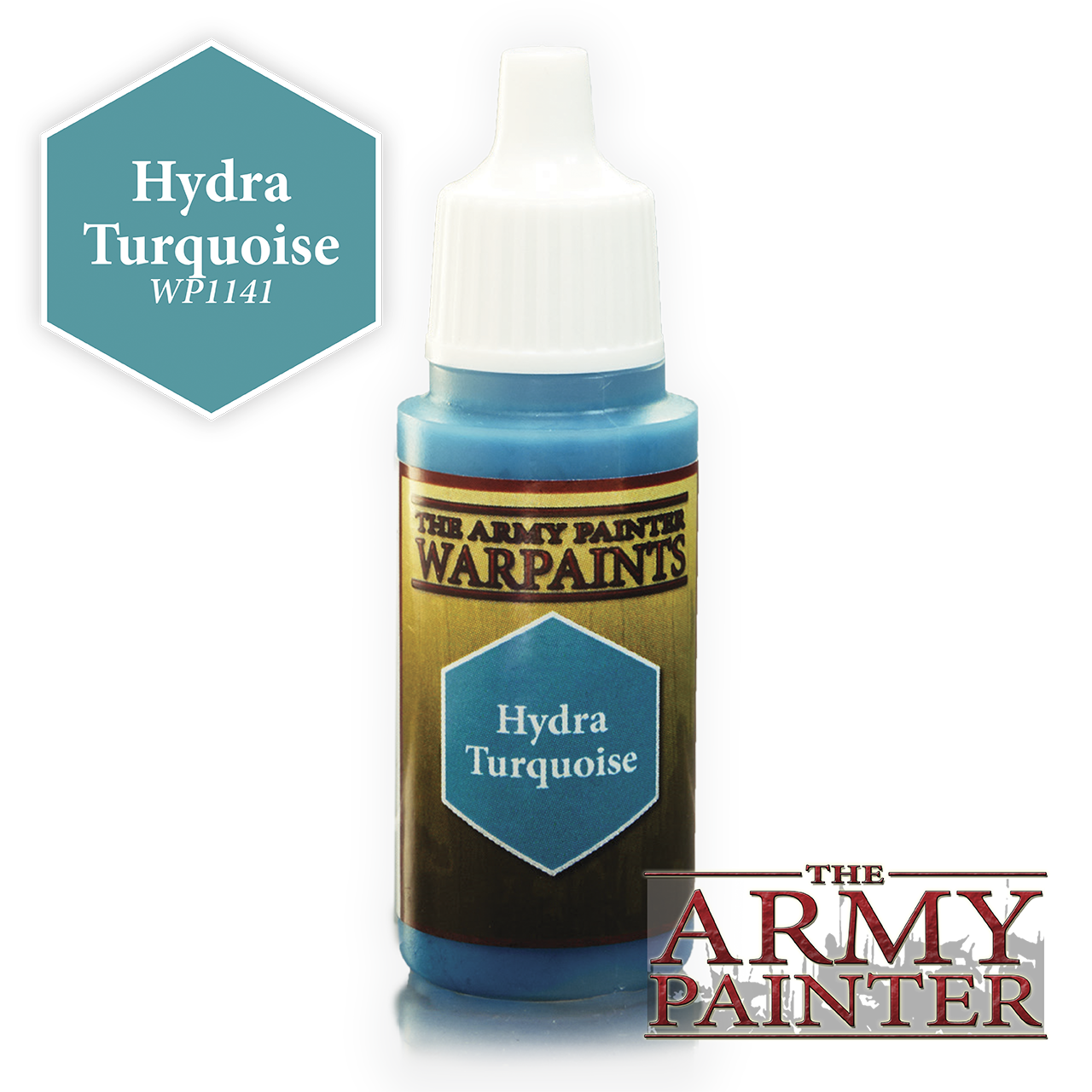 The Army Painter Warpaints: Hydra Turquoise (18ml)