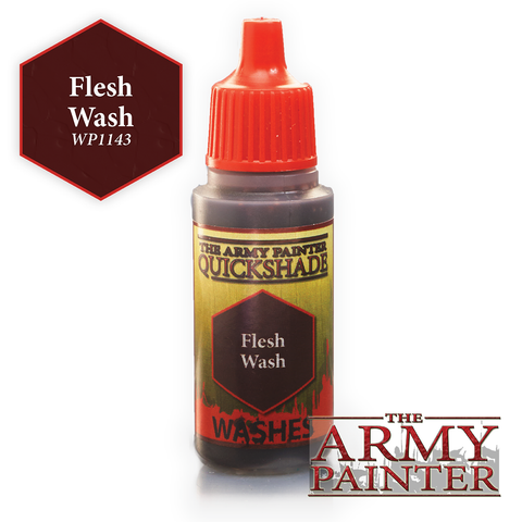 The Army Painter Warpaints Washes: Flesh Wash Quickshade (18ml)