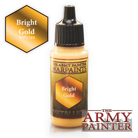 The Army Painter Warpaints Metallics: Bright Gold (18ml)