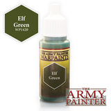 The Army Painter Warpaints: Elf Green (18ml)