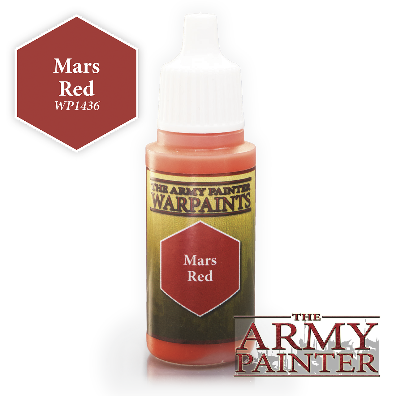 The Army Painter Warpaints: Mars Red (18ml)