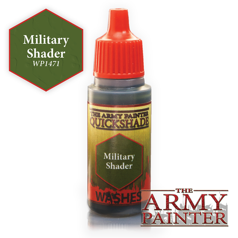 The Army Painter Warpaints Washes: Military Shader Quickshade (18ml)