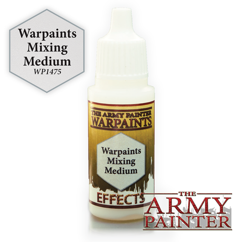 The Army Painter Warpaints Effects: Warpaints Mixing Medium (18ml)