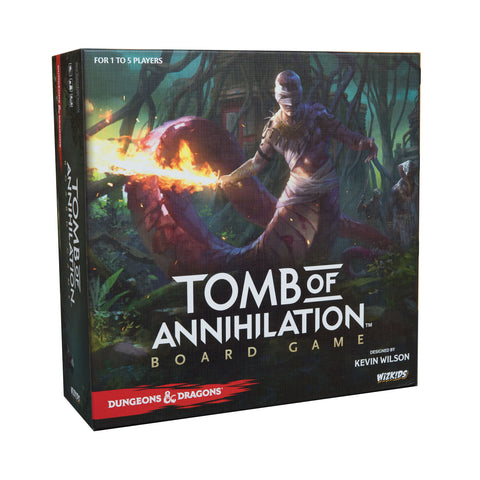 D&D: Tomb of Annihilation Board Game (Standard Edition)