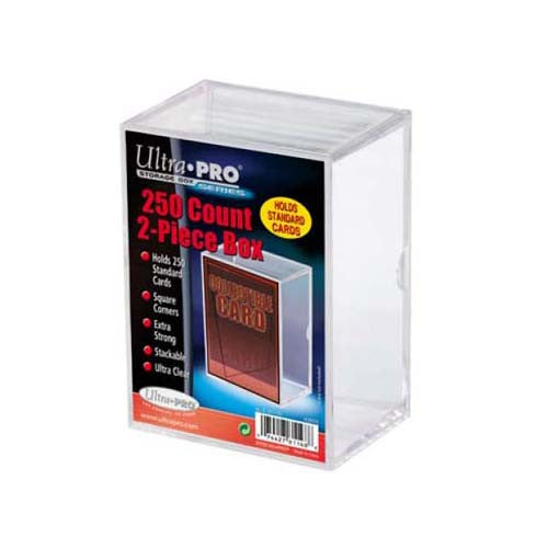 Ultra Pro Plastic Deck Box 250-count 2-piece